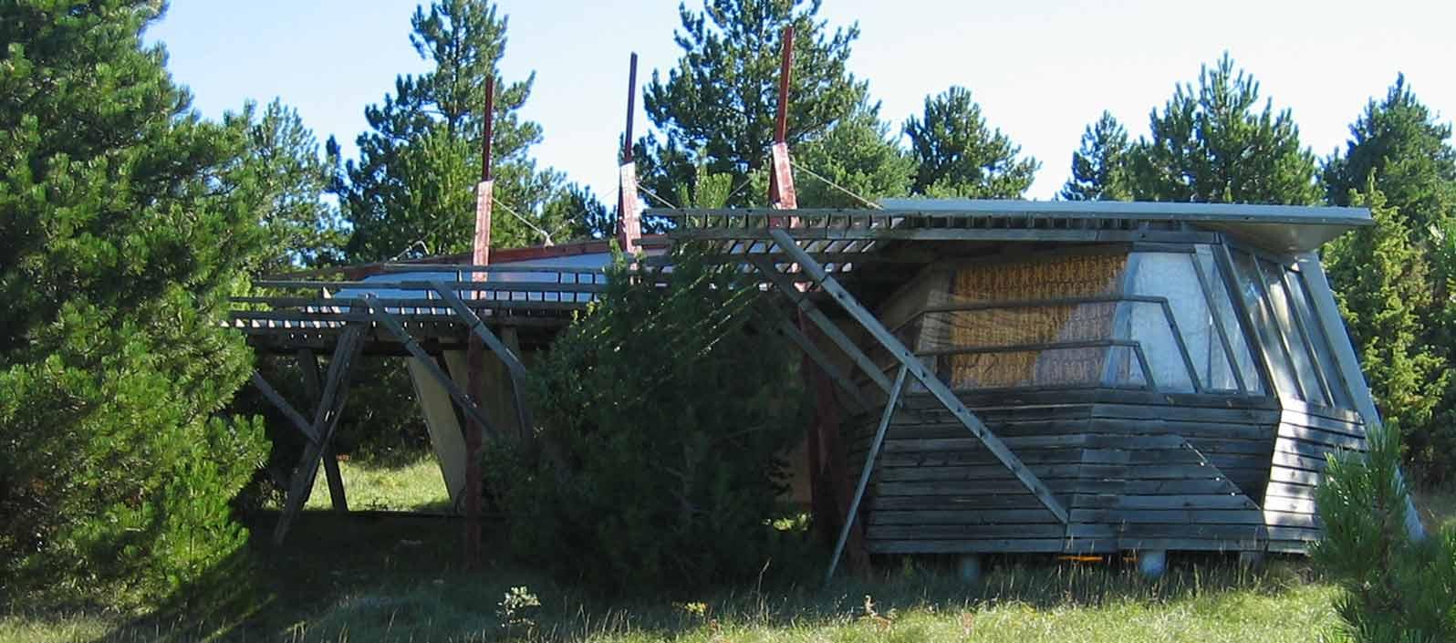 Le pavillon d'accueil