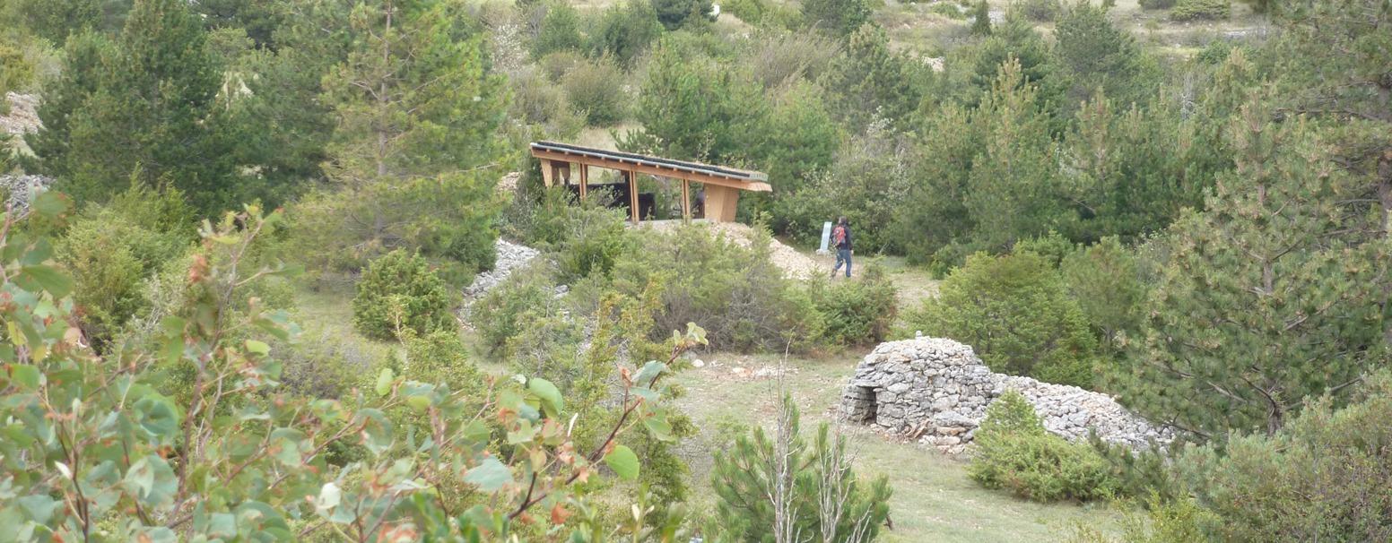 Le pavillon des matériaux